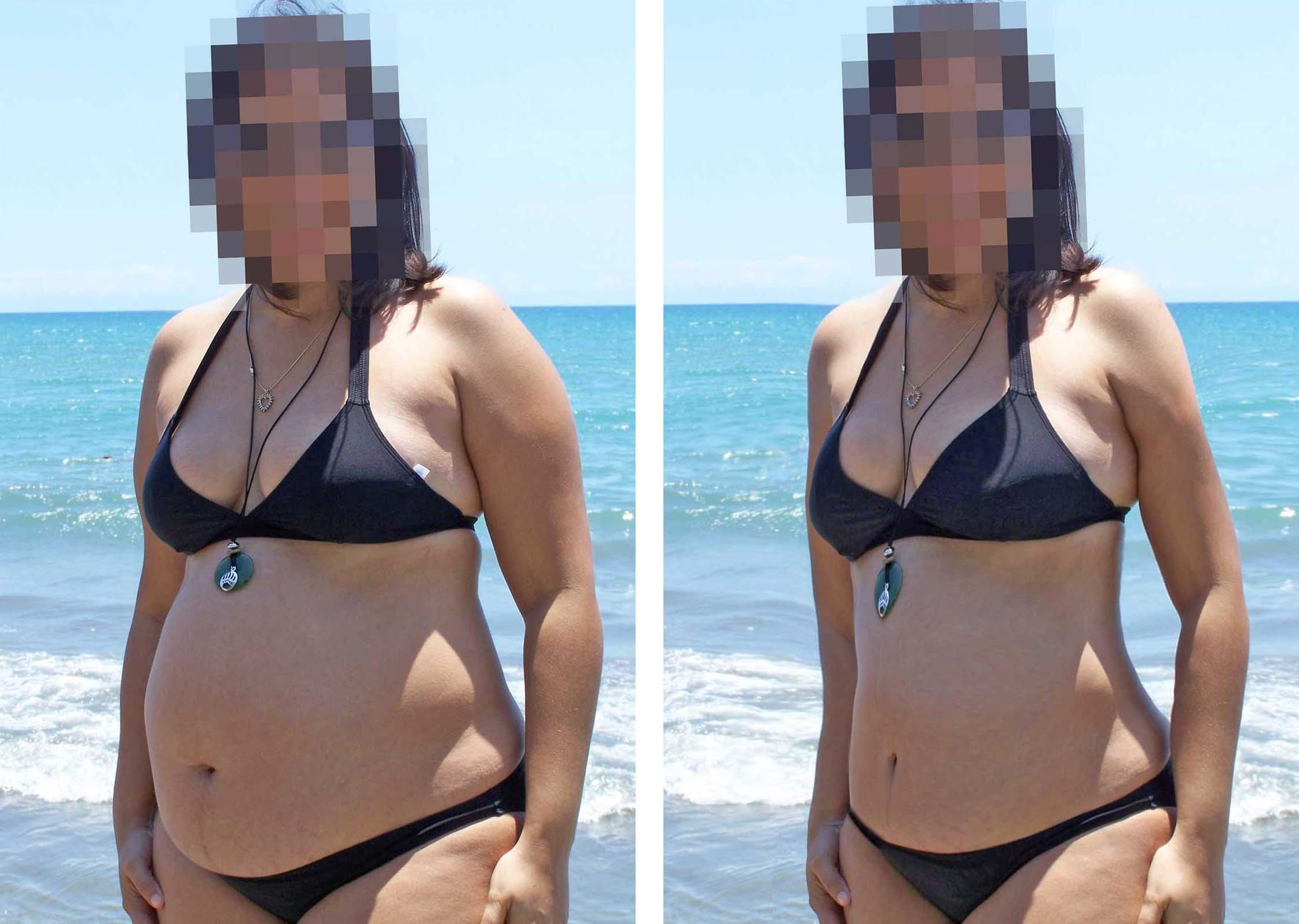 Como bajar de peso a una persona en photoshop