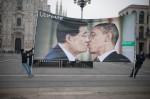 Campaña Benetton en Milán