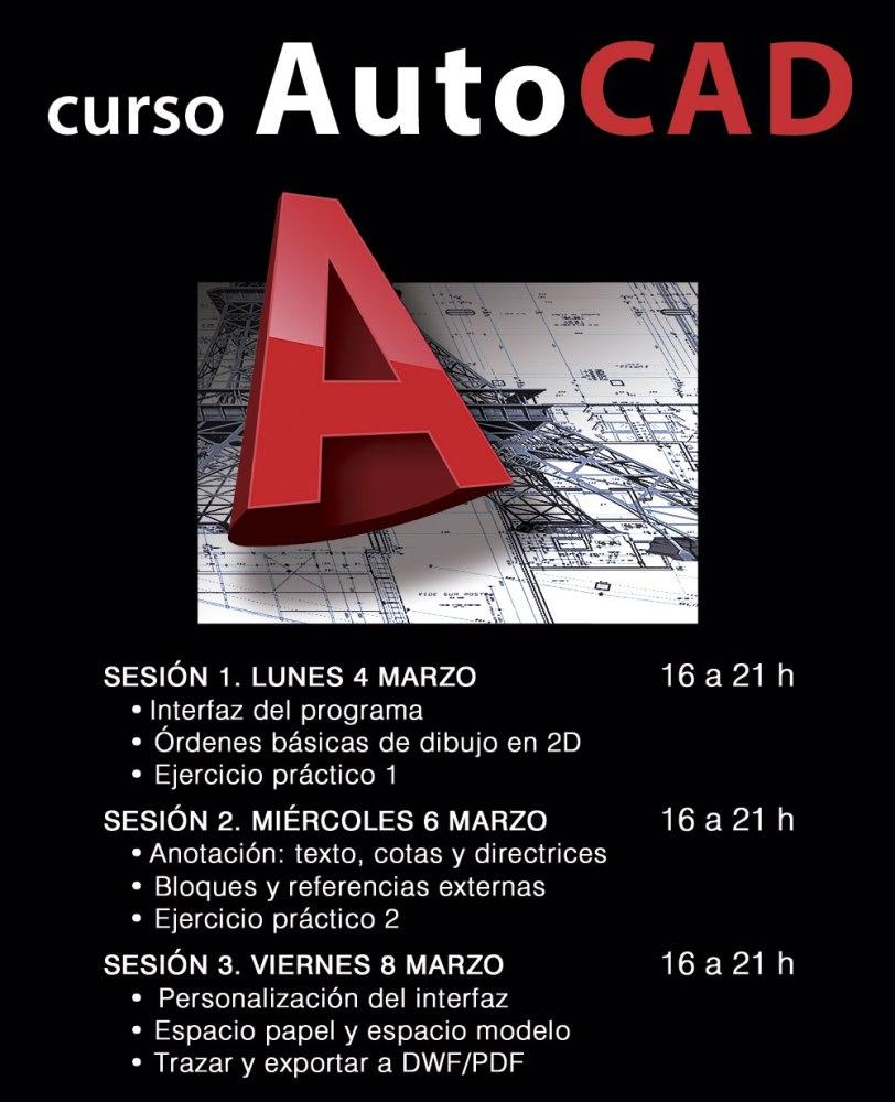 Curso de AutoCAD en Valencia