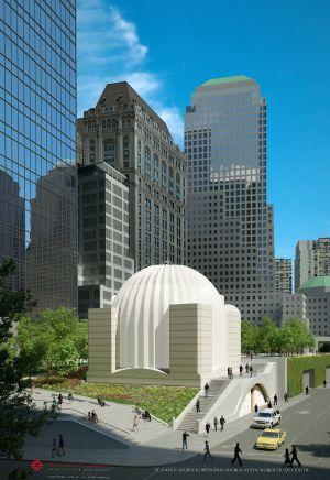 Proyecto de Calatrava para la iglesia de San Nicolás en Nueva York. / EUROPA PRESS